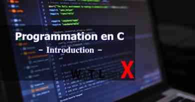 Programmation en C – Introduction