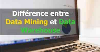 Différence entre Data Mining et Data Warehouse