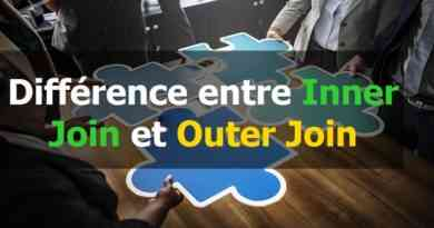 Différence entre Inner Join et Outer Join