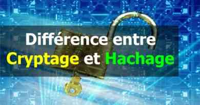 Différence entre cryptage et hachage