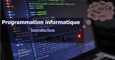 Programmation informatique – Introduction