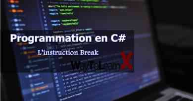 L'instruction Break en C#