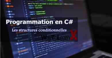 Les structures conditionnelles en C#