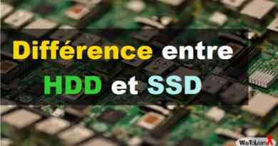 Différence entre HDD et SSD