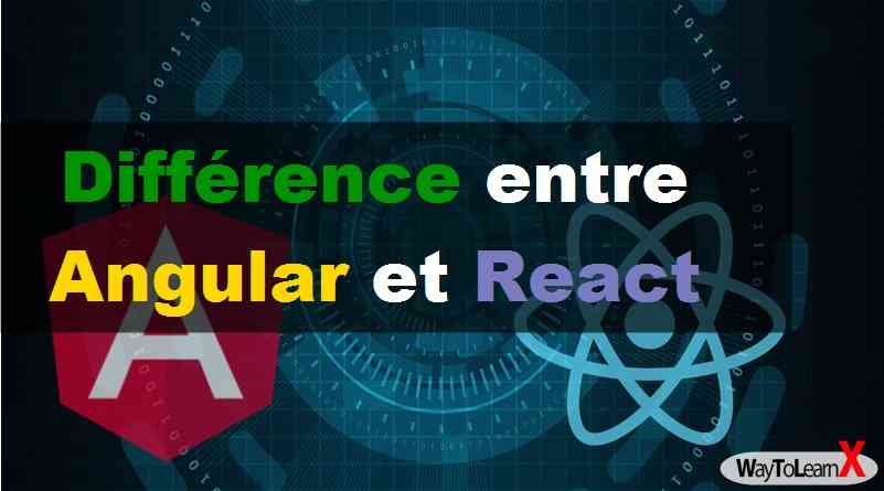 Différence entre Angular et React