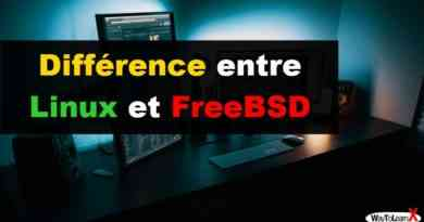 Différence entre Linux et FreeBSD
