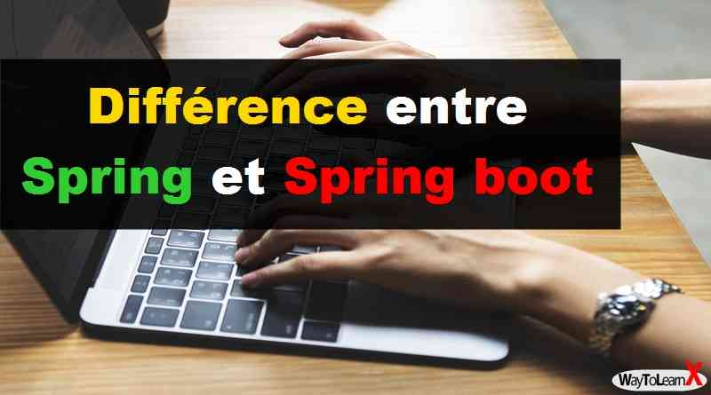 Différence entre Spring et Spring boot