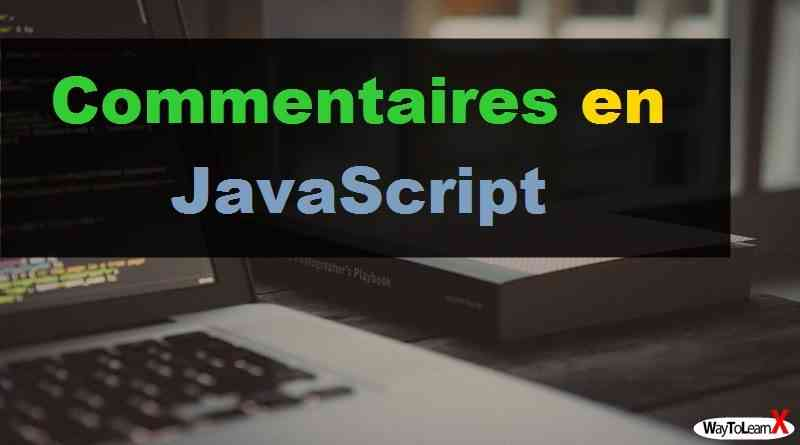 Commentaires en JavaScript