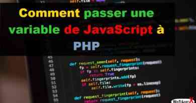 Comment passer une variable de JavaScript à PHP