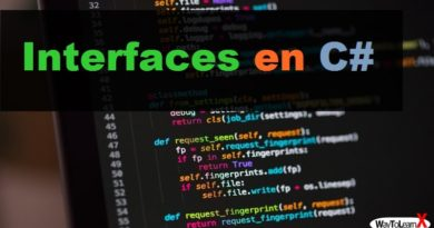 Les interfaces en C#