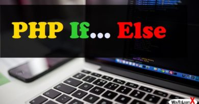 PHP If… Else