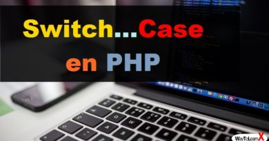 Switch…Case en PHP