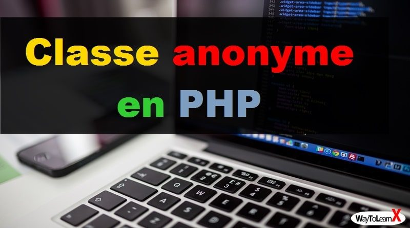 Classe anonyme en PHP