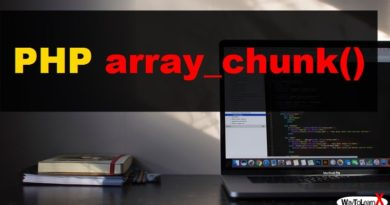 PHP array_chunk