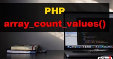 PHP array_count_values