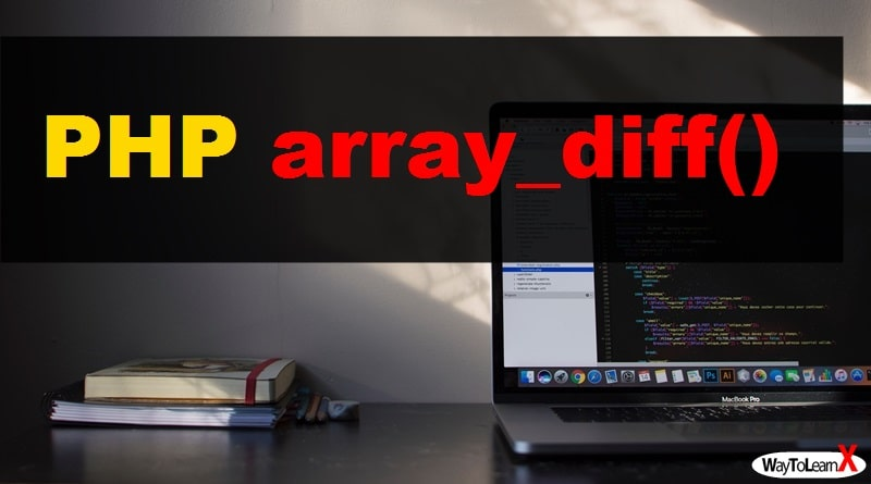 PHP array_diff