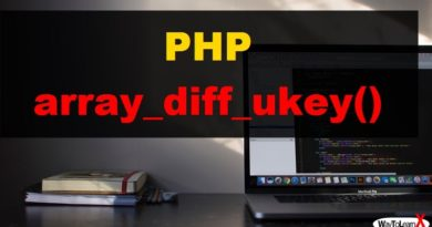 PHP array_diff_ukey