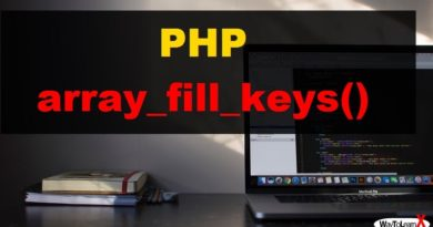 PHP array_fill_keys