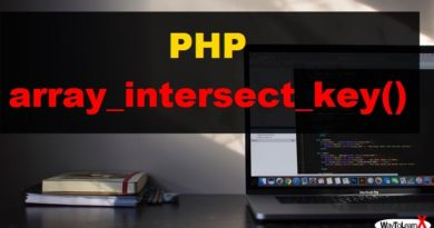 PHP array_intersect_key