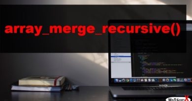 PHP array_merge_recursive