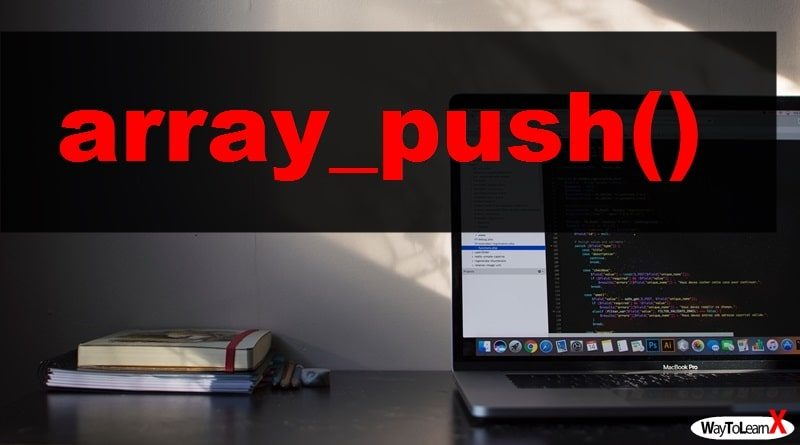 PHP array_push