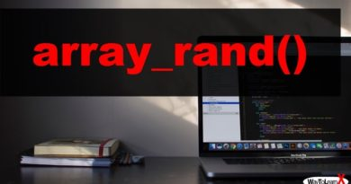 PHP array_rand