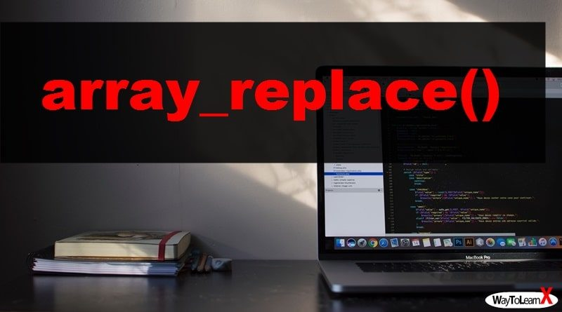 PHP array_replace