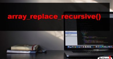 PHP array_replace_recursive