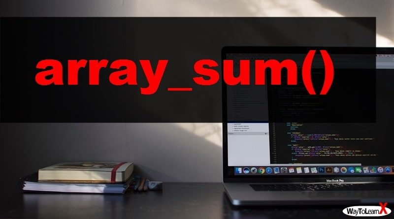 PHP array_sum