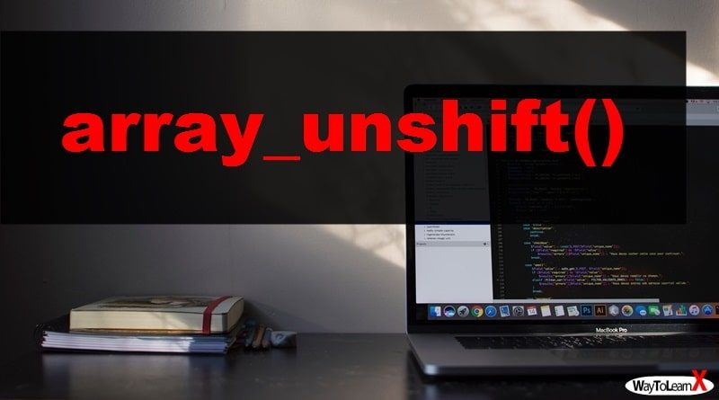 PHP array_unshift