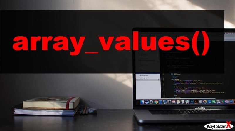 PHP array_values