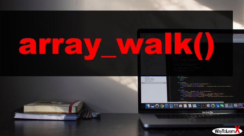 PHP array_walk