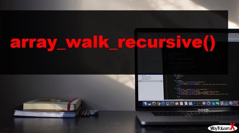 PHP array_walk_recursive