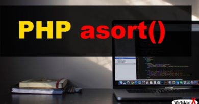 PHP asort