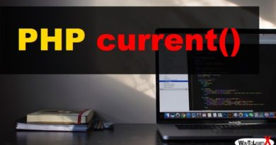PHP current