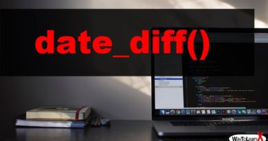 PHP date_diff
