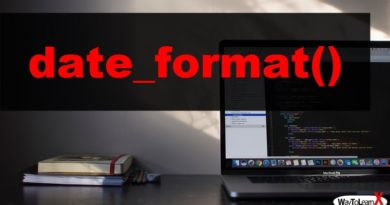 PHP date_format