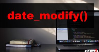 PHP date_modify
