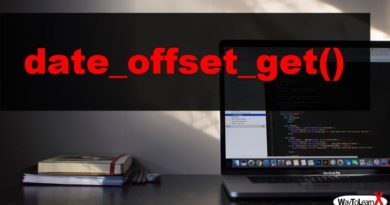 PHP date_offset_get