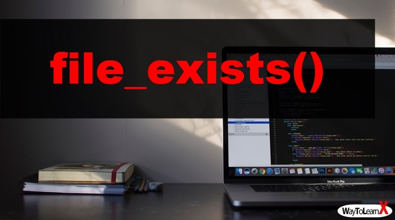 PHP file_exists