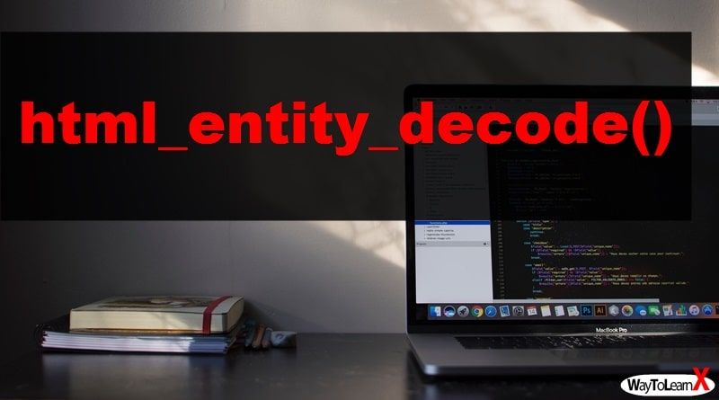 PHP html_entity_decode