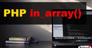 PHP in_array
