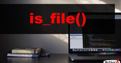 PHP is_file