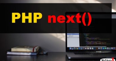 PHP next