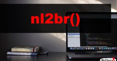 PHP nl2br