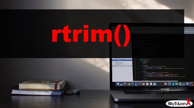 PHP rtrim