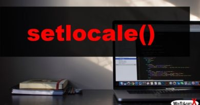 PHP setlocale