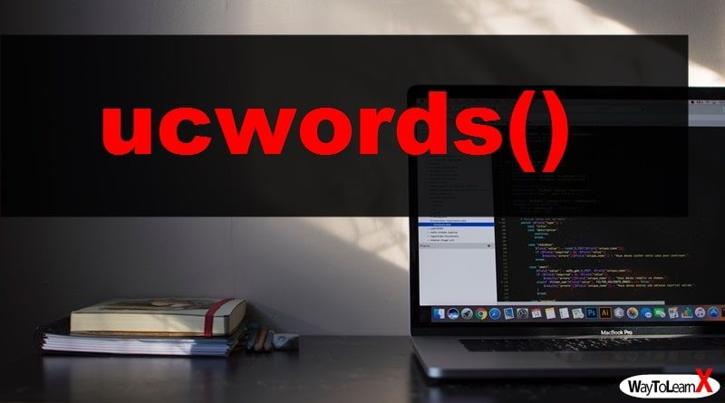 PHP ucwords