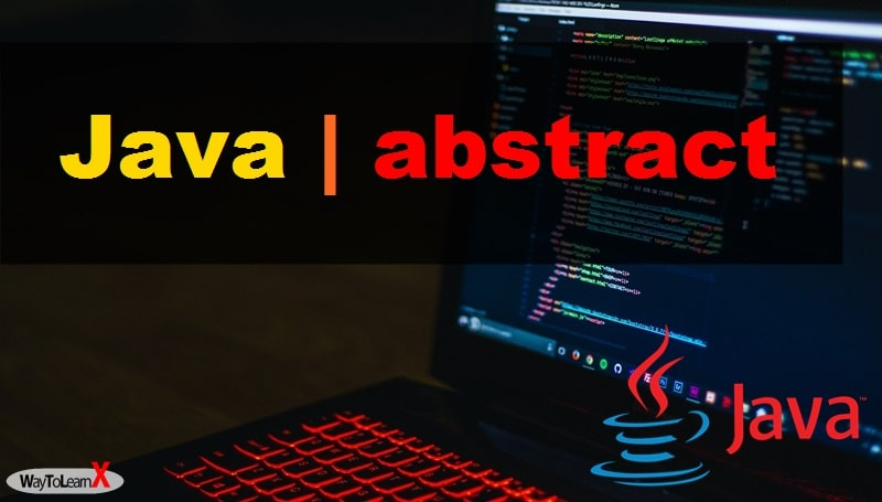 Java - abstract