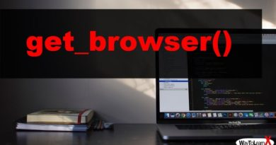 PHP get_browser
